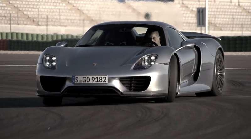 Porsche 918 yorumları