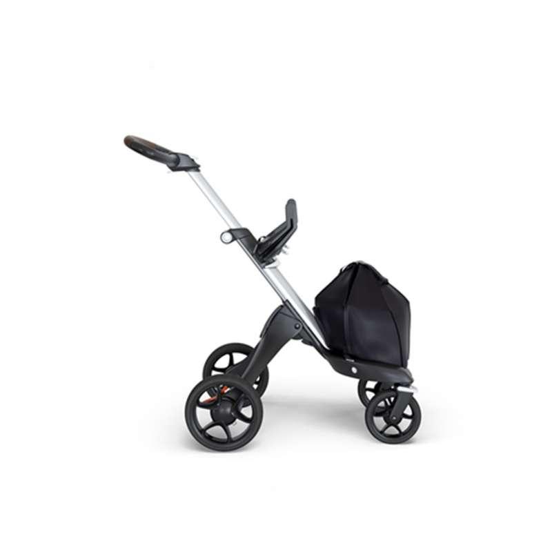 Stokke V6 Bebek Arabası Gri Şase Kahverengi Deri Tutma Kollu yorumları