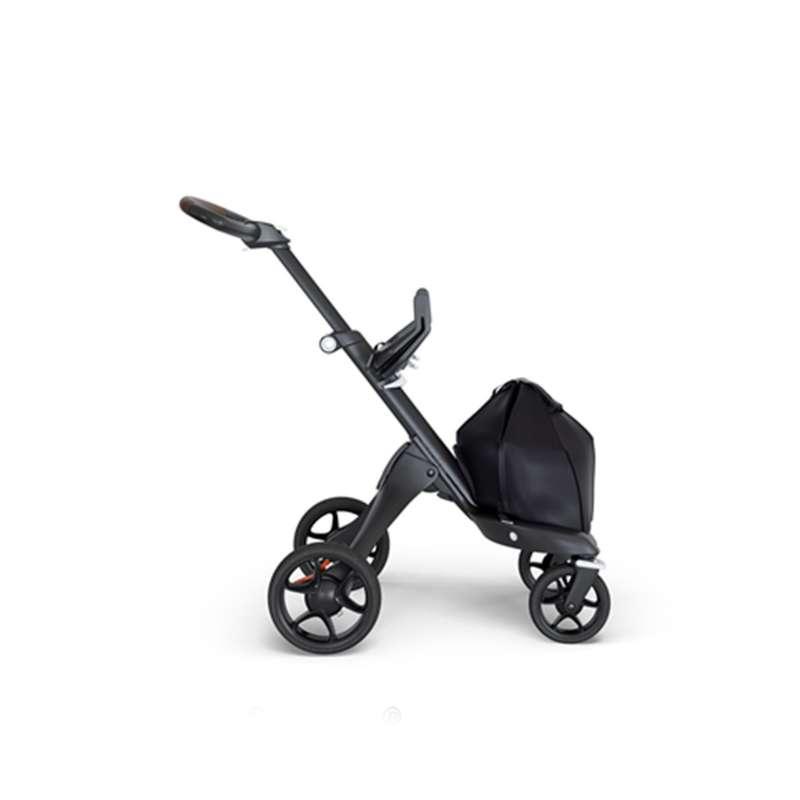 Stokke V6 Bebek Arabası Siyah Şase Kahverengi Deri Tutma Kollu yorumları