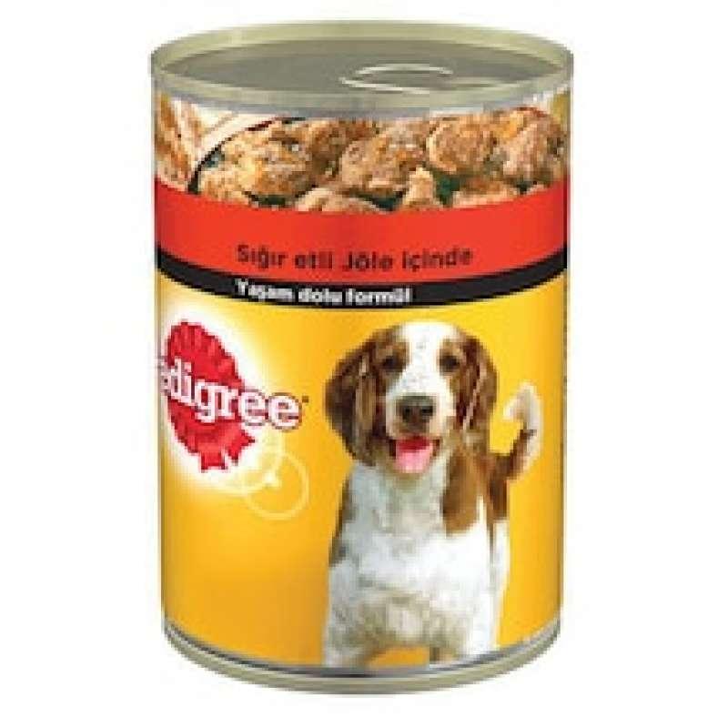 pedigree sığır etli 400 gr 24'lü paket yetişkin köpek konservesi yorumları
