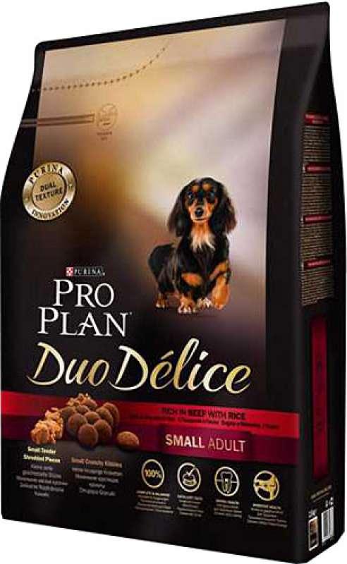 pro plan duo delice small adult biftek ve pirinçli 2,5 kg küçük irk yetişkin köpek maması yorumları