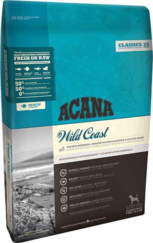 acana classics wild coast 11.4 kg balıklı tahılsız yetişkin köpek maması yorumları