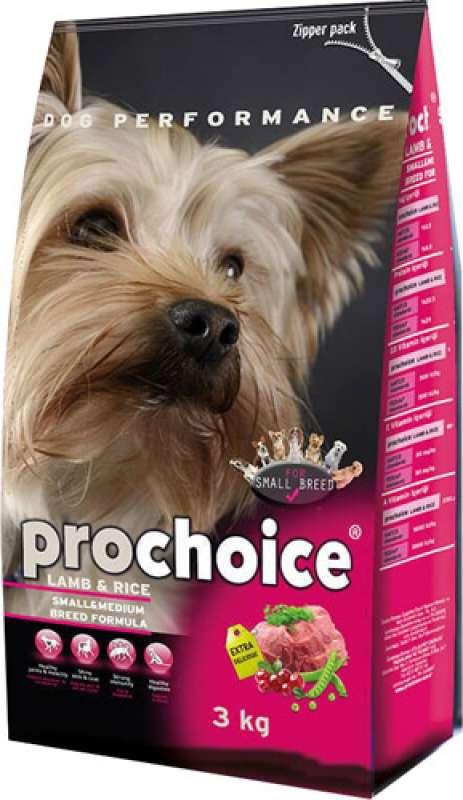 pro choice small breed adult 3 kg kuzu etli ve pirinçli küçük irk yetişkin köpek maması yorumları