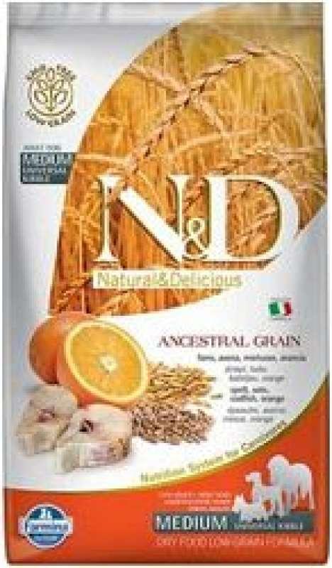 n&d düşük tahıllı morina balıklı portakallı 12 kg orta irk yetişkin köpek maması yorumları