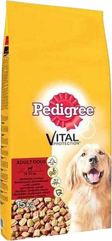 pedigree vital protection biftekli ve kümes hayvanlı 15 kg yetişkin köpek maması yorumları
