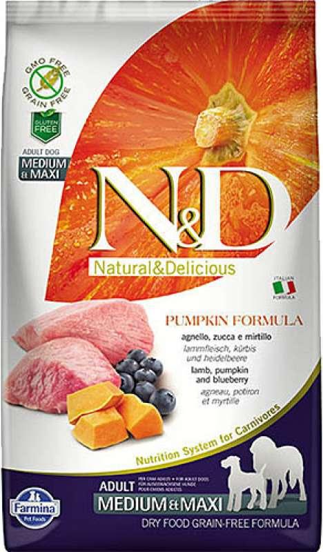 n&d pumpkin tahılsız balkabaklı kuzu etli ve yaban mersinli 12 kg orta/büyük irk köpek maması yorumları