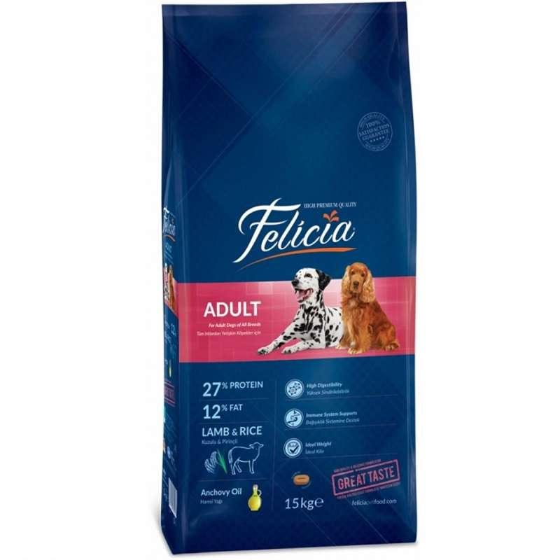 felicia kuzulu 15 kg yetişkin köpek maması yorumları