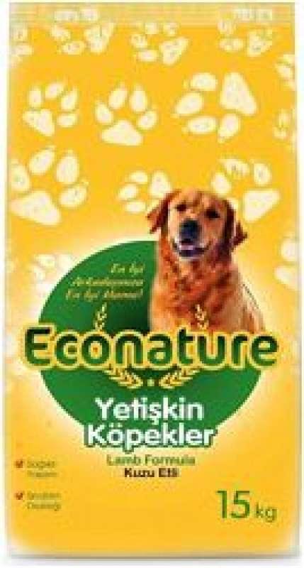 econature kuzulu 15 kg yetişkin köpek maması yorumları