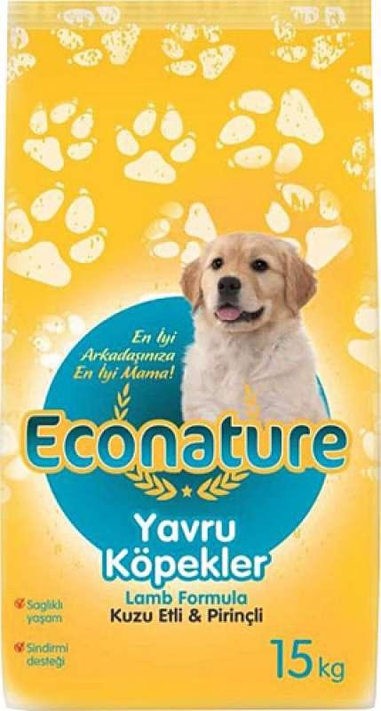 econature kuzu etli 15 kg yavru köpek maması yorumları