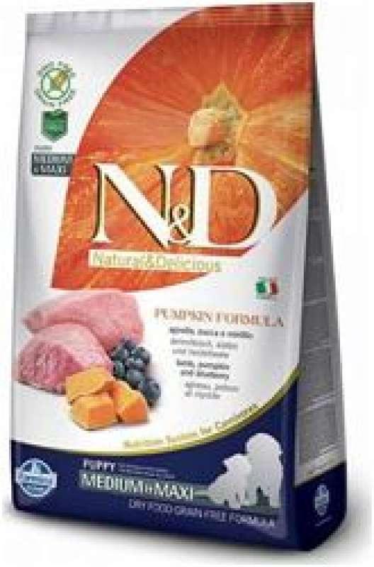 n&d pumpkin tahılsız balkabaklı kuzu etli ve yaban mersinli 2.5 kg orta/büyük irk yavru köpek maması yorumları