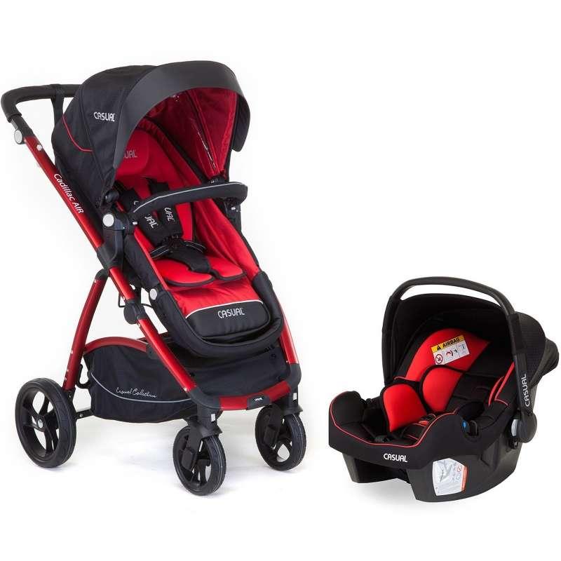 casual cadillac air trona kırmızı travel sistem bebek arabası yorumları