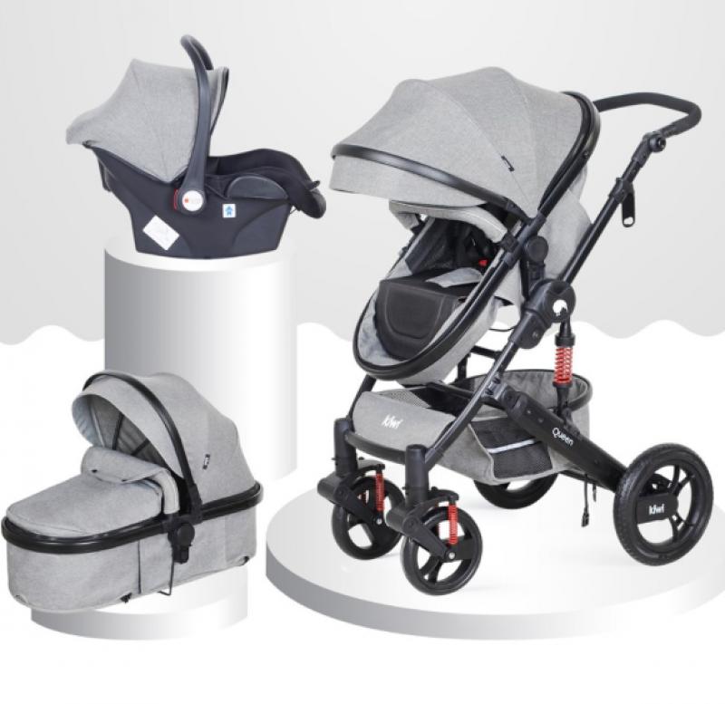 kiwi safe & comfort queen 3 in 1 travel sistem bebek arabası yorumları