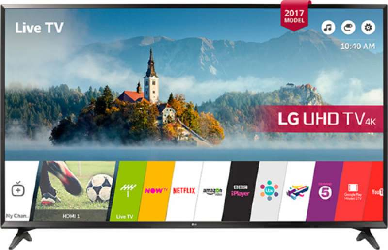 lg 43uj630v 4k ultra hd 43inch 109 ekran uydu alıcılı smart led televizyon yorumları