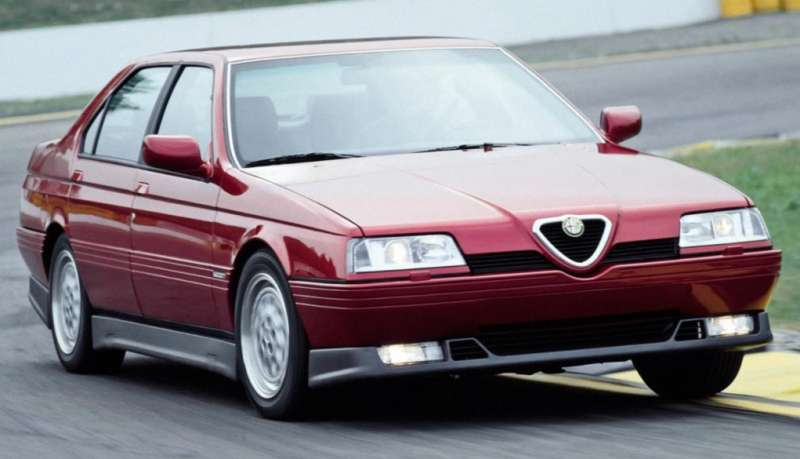 Alfa Romeo 164 yorumları
