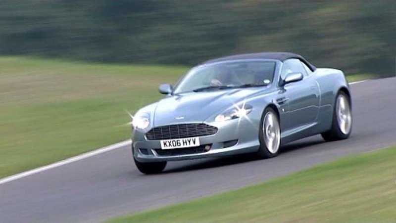 Aston Martin DB9 yorumları