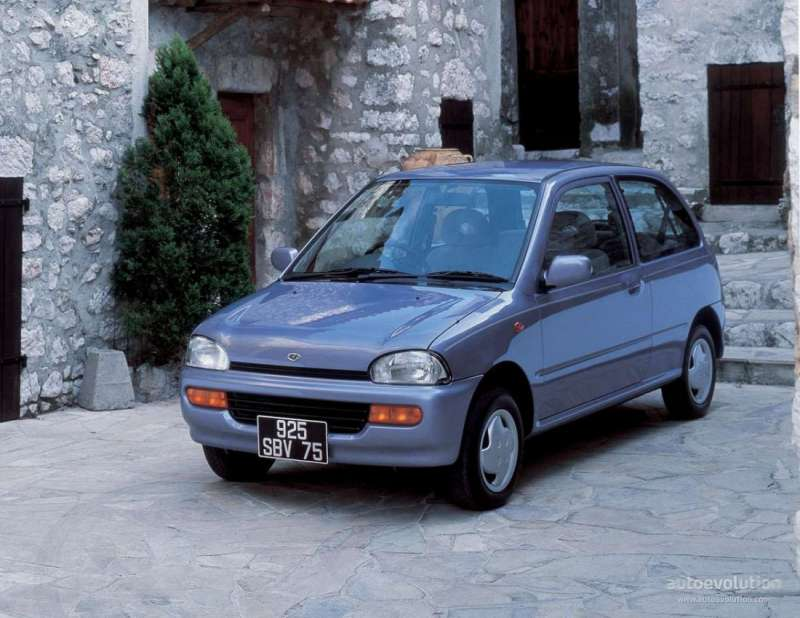 Subaru Vivio yorumları