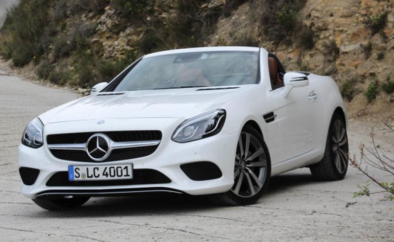 Mercedes SLC yorumları